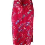 Deep Red Floral